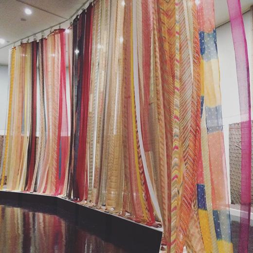 松濤美術館、インドの染織、工芸