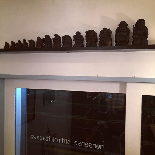 福の神、七福神、恵比寿大黒、骨董、アンティーク、木彫、縁起物
