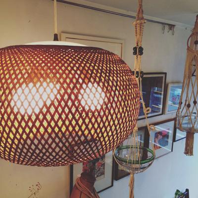 近藤昭作、竹照明、ペンダントライト、ヴィンテージ