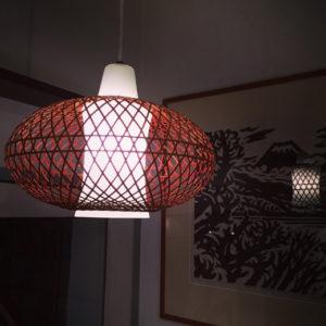 竹照明、竹かご、竹のあかり、ペンダントライト、和モダン、モダンクラフト