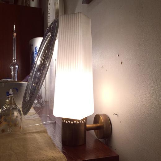 北欧ヴィンテージ、ヴィンテージ照明、ブラケットライト、モダン、アールデコ、ウォールランプ