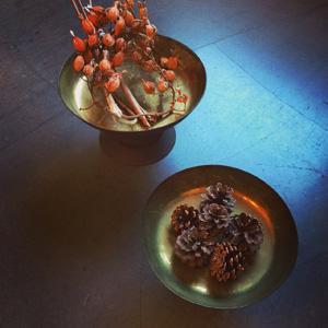 韓国の真鍮コンポート、祭器