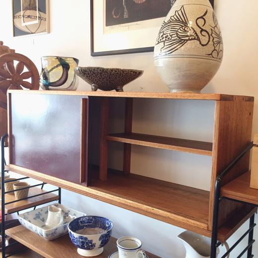 ヴィンテージ家具、キャビネット、ガラスケース、モダンデザイン、1950年代、ジャパニーズモダン