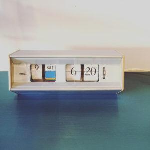 渡辺力、キャスロン601、置時計、Qデザイナーズ、コパル、ミッドセンチュリーデザイン