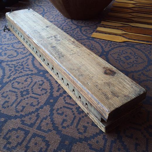 古道具、木型、葉巻型、モールド、クラフト、ドイツ製、cigarmoldpress