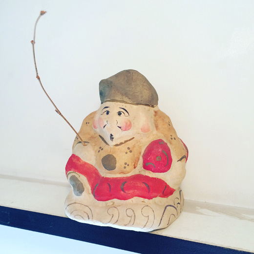 張子えびす、えびす様、七福神、クラフト、郷土玩具、伝統工芸