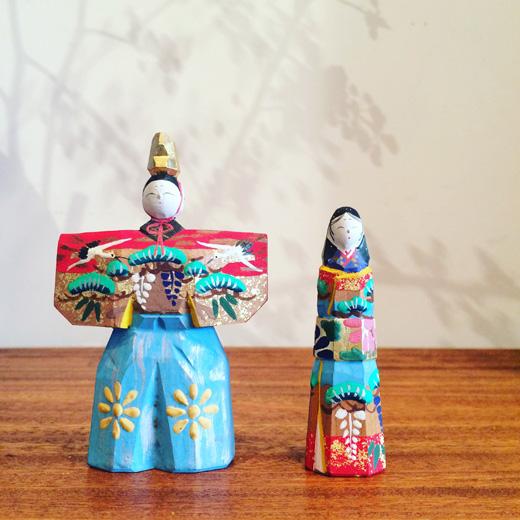 雛人形、奈良一刀彫、クラフト、伝統工芸