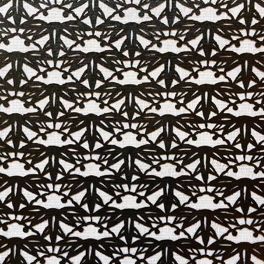 伊勢型紙、ヴィンテージ、未使用、松竹、伝統文様、和モダン、伝統工芸品、型染、図案