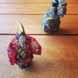 能人形、翁、奈良一刀彫、伝統工芸、ヴィンテージ