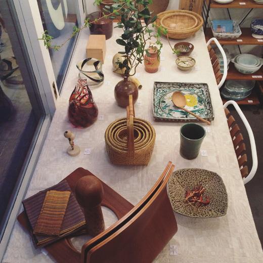 日本の手仕事、クラフト、ナンセンス下北沢、店内、和モダン、和スタイル