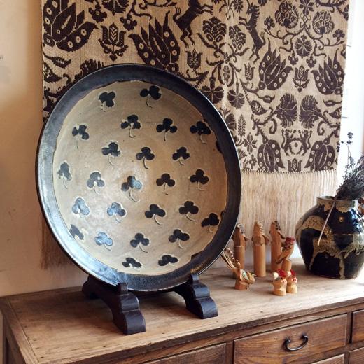 民芸、尺皿、クラフト、大鉢