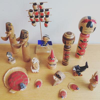 こけし、郷土玩具、民藝人形