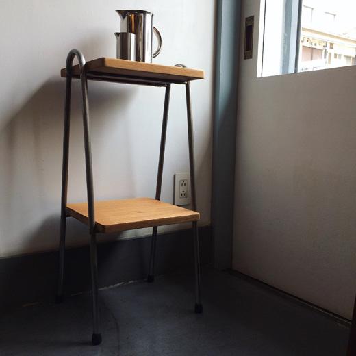 ナンセンスリメイク、リメイクテーブル、シンプルモダン、サイドテーブル、フラワースタンド、ランプスタンド