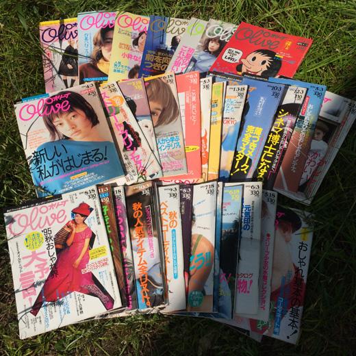 オリーブ、ファッション雑誌、オリーブ少女、1990年代、ファッション、ガーリースタイル、伝説、東京蚤の市、限定