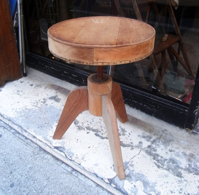リメイクサイドテーブル、ピアノスツールremakestool