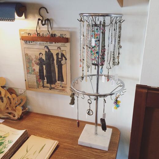 商店什器、回転什器、フック、ヴィンテージ家具、古道具