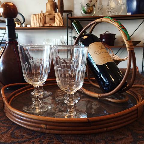 北欧ヴィンテージ、ホルムガード、ワイングラス
