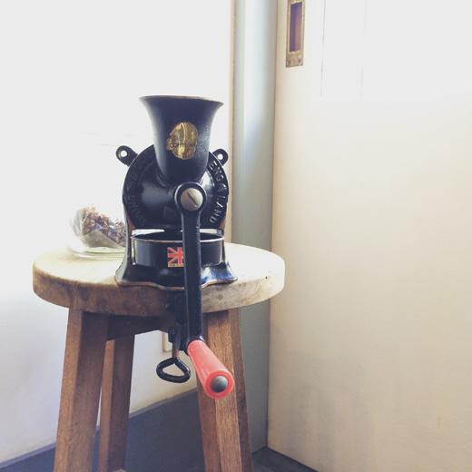 スポングコーヒーミル、ヴィンテージ、イギリス製、コーヒーミル