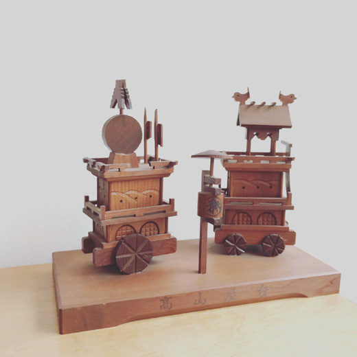 高山祭り.高山屋台.山車.秋祭り.伝統工芸.民芸品.土産物.一位細工.takayamamatsuri.yatai.craft.vintage.figure.souvenir.woodwork