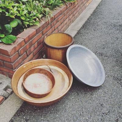 古道具、盥、洗面器、銅