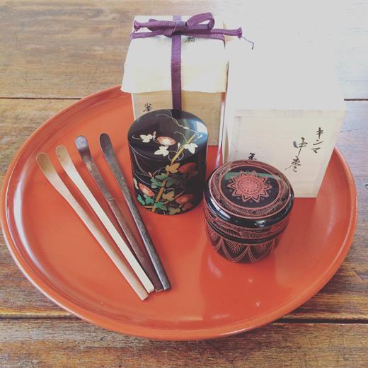 茶道具.棗.漆器.蓋物.朝顔.古道具.しつらえ.teaceremony.natsume.japanesecraft.lapan.lacquer.vintage