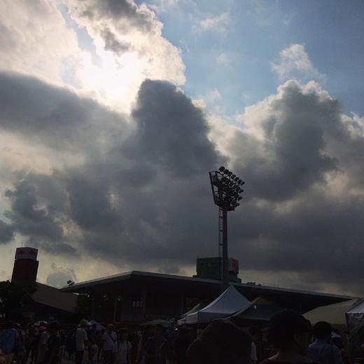 東京蚤の市、真夏の東京蚤の市、大井競馬場、手紙社