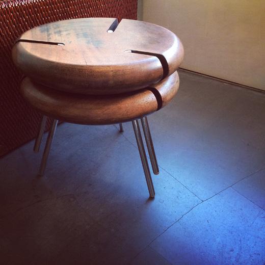 フランス、objektoヴィンテージのtriboスタッキングスツールtribo.stool.vintage