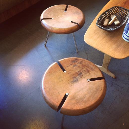 フランス、objektoヴィンテージのtriboスタッキングスツールtribo.vintage.stackingstool