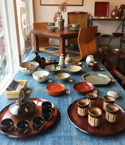 陶器フェア、器ギャラリー、作家もの、和食器、器、漆器、民芸、工芸、ヴィンテージ食器