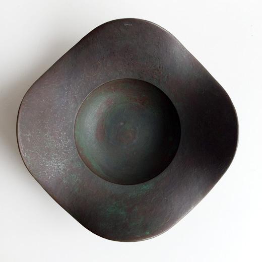 馬場忠寛、鋳金、金属工芸、器、銅、銅合金、水盤