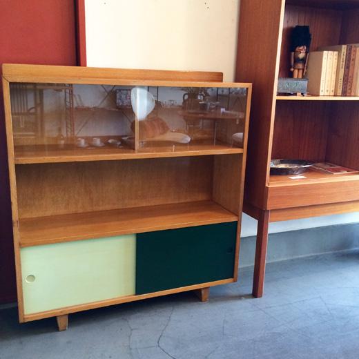 三越、ヴィンテージ家具、1950年代、サイドボード、和洋折衷、文化住宅、モダンデザイン