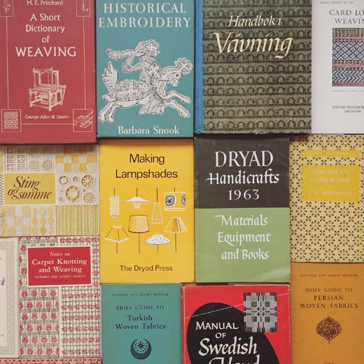 手芸本、古本、クラフトブック、趣味本、実用書、刺繍、織、レース、籐編み