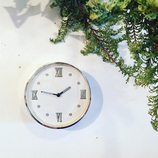 ヴィンテージ時計、資生堂ノベルティー、フォルナセッティ、モダン