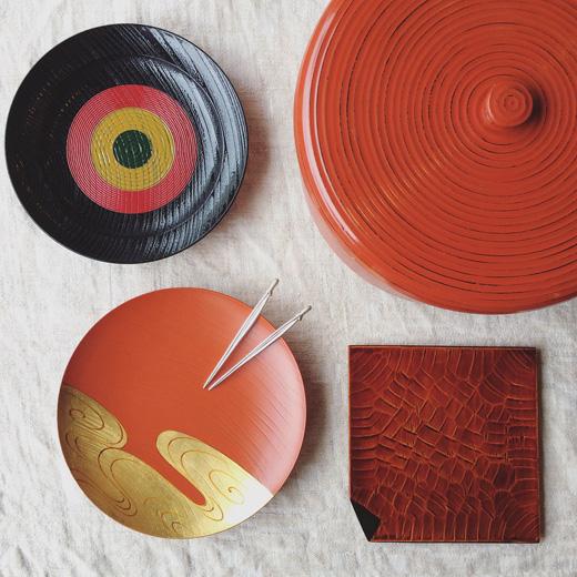 茶道具、菓子器、漆器、クラフト、器、ヴィンテージ、古道具、工芸