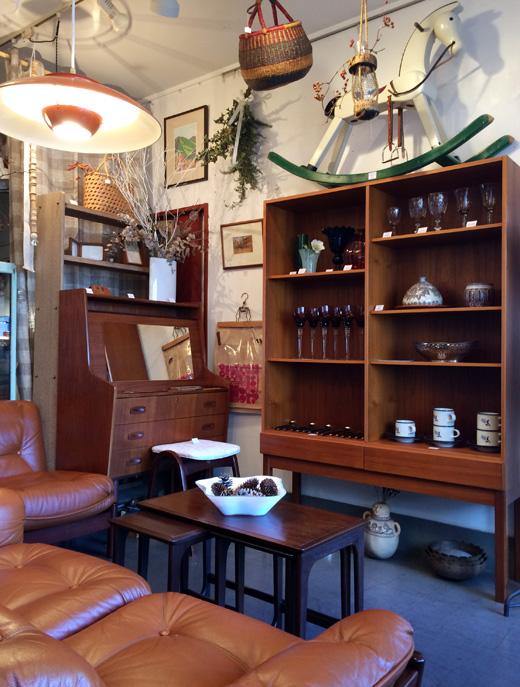 北欧ヴィンテージ家具、チーク家具、ライティングデスク、コフォードラーセン