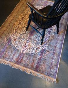 ヴィンテージ、ベルギー絨毯、カーペット、ラグ、クラシカルモダン