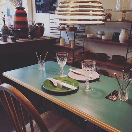 ヴィンテージスタイル、テーブルコーディネート
