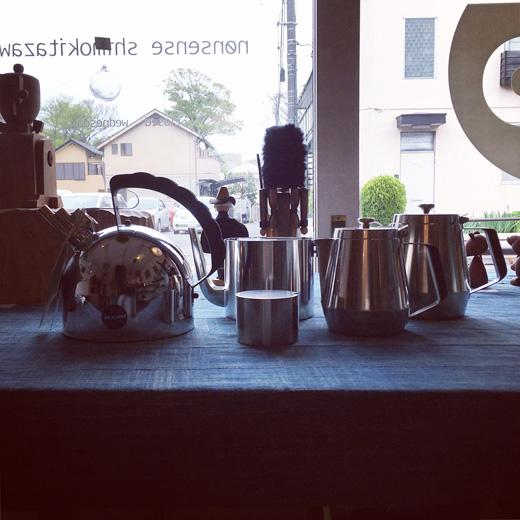 コーヒー、ティー道具、ステルトン、アレッシィ、コーヒーミル、ヴィンテージ道具、コーヒータイム