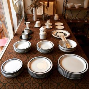 ヴィンテージ食器、北欧ヴィンテージ、白い食器、ダンスク、アルツベルグ、ロールストランド