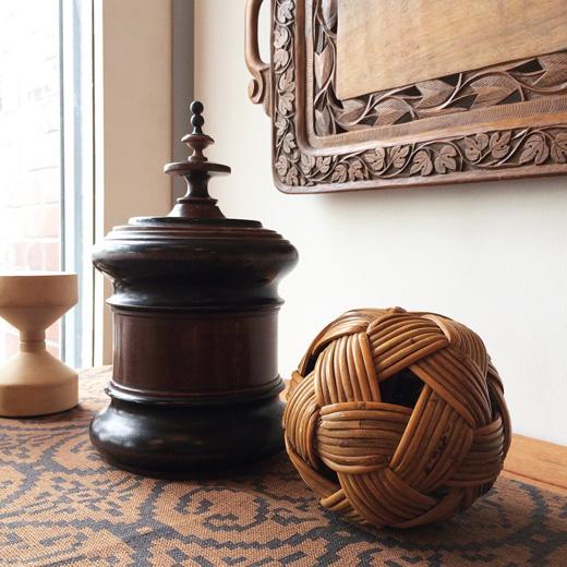 北欧ヴィンテージ、木工芸、クラフト、葉巻入れ、木箱、挽物、匠、モダンデザイン、アンティーク、箱物、蓋物