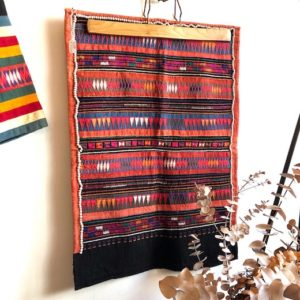 アカ族、タイ山岳民族、民族衣装、トライバルアート、刺繍、古布、ヴィンテージ