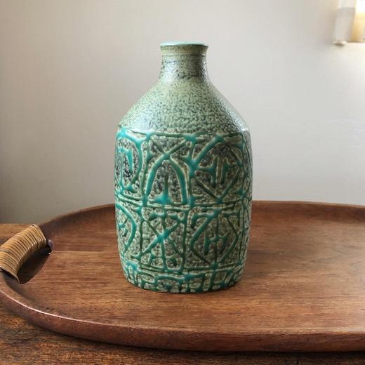 ロイヤルコペンハーゲン、アルミニア、バッカ、花瓶、フラワーベース、ニルストーソン、北欧陶器、北欧ヴィンテージ