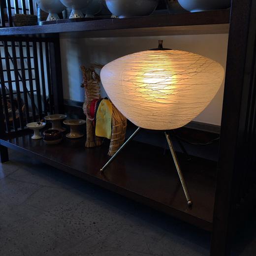 行灯、和風照明、和モダン、テーブルランプ、糸巻き硝子、和硝子、和モダン