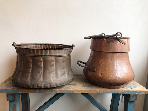 アンティーク、銅器、銅鍋、鉢カバー、民族雑貨、中東