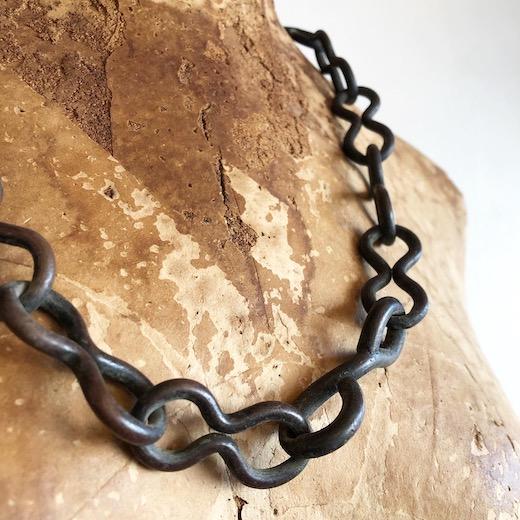 鎖、鉄鎖、古道具、チェーン、アンティーク、吊り金具