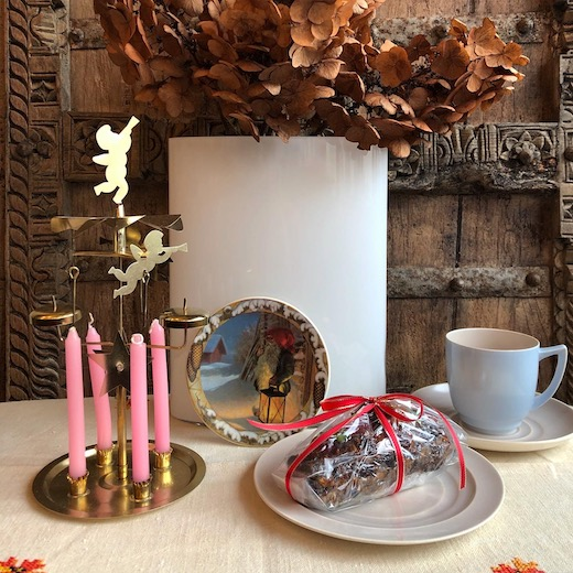 北欧ヴィンテージ雑貨、クリスマスプレート、アラビア 、トムテ、サンタクロース、絵皿、andersolsson