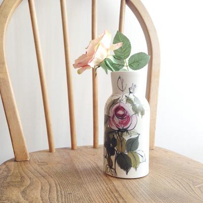 アラビア、ヴィンテージ、花瓶、フラワーベース、北欧ヴィンテージ