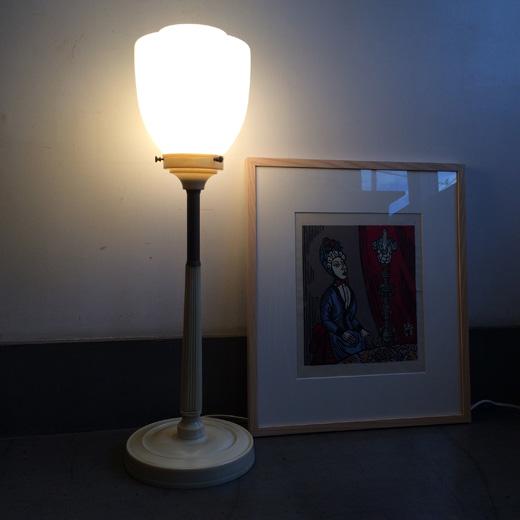 アールデコ、ヴィンテージ照明、テーブルランプ、クラシックモダン