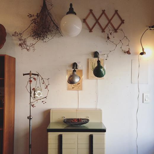 秋の装い、秋のインテリア、ナンセンス下北沢、ヴィンテージ家具、インテリアコーディネート、ヴィンテージスタイル