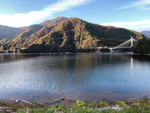 紅葉、丹沢湖、富士山、2020年秋